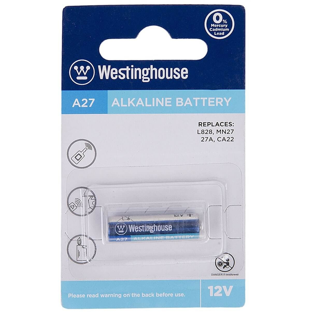 25 BATTERY A27  WESTINGHOUSE