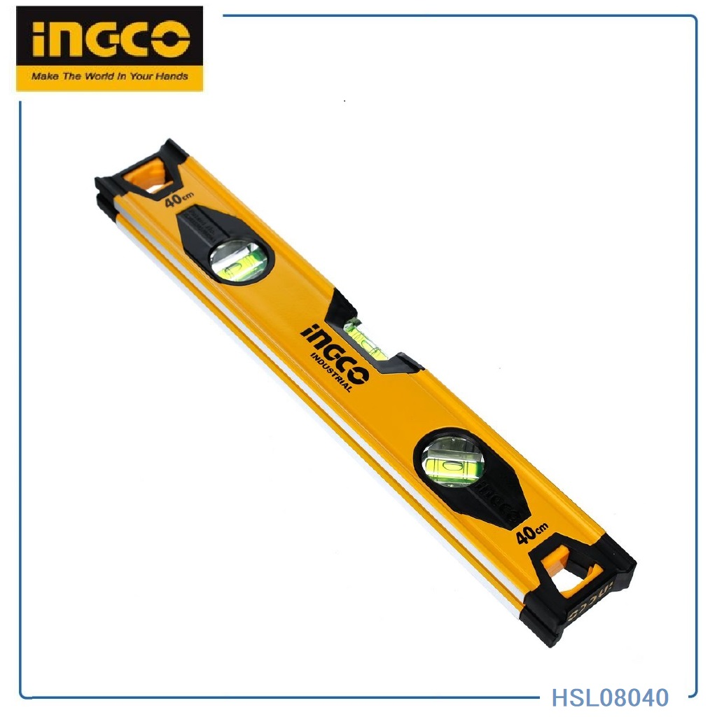 999   SPIRIT LEVEL ED8 INGCO 40CM HSL08040