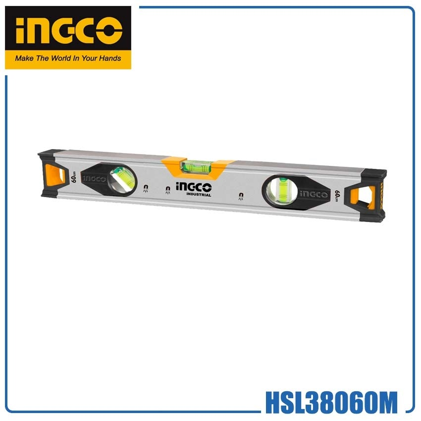 999   SPIRIT LEVEL EG4 INGCO 60CM HSL38060M